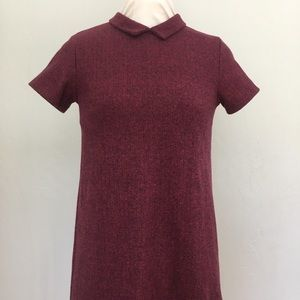 ZARA Girls Burgundy Dress, size 13/14 NWT